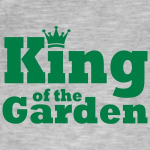 King of the Garden - Maglietta vintage da uomo