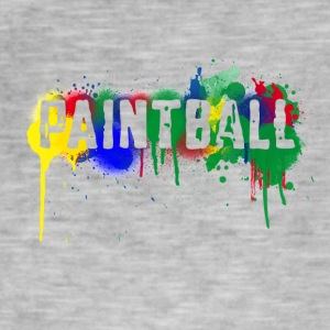 color_paintball - Camiseta vintage hombre