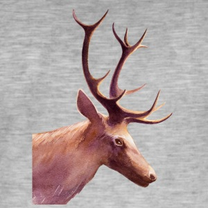 · Animaux · Animaux · Cerf Cerf - T-shirt vintage Homme