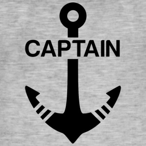 Captain - Mannen Vintage T-shirt