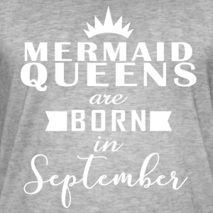 Havfrue Queens September - Herre vintage T-shirt