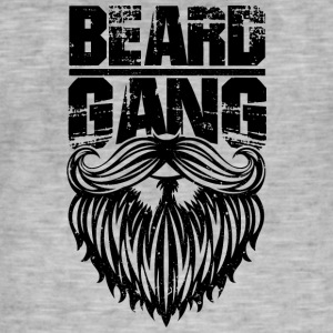 beard gang black - Männer Vintage T-Shirt