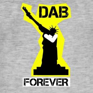DAB FOREVER STATUE OF YELLOW Liberty- - Men's Vintage T-Shirt
