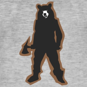 Flippant Bear;) - Men's Vintage T-Shirt
