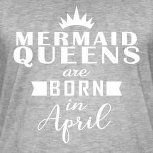 Mermaid Queens April - Men's Vintage T-Shirt
