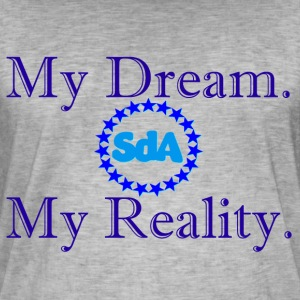 My Dream, My Reality - SdoubleA - T-shirt vintage Homme