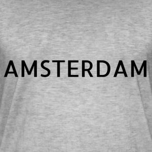 Amsterdam - T-shirt vintage Homme