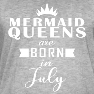 Mermaid Queens July - Men's Vintage T-Shirt