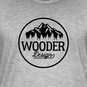conception Wooder - T-shirt vintage Homme