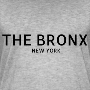The Bronx - Vintage-T-skjorte for menn
