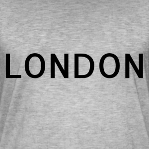 London - Mannen Vintage T-shirt