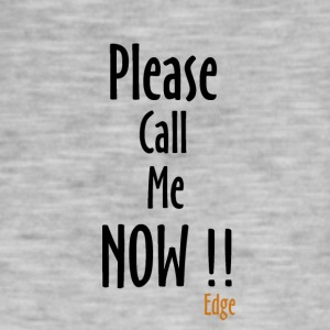 Call_me_Now - Mannen Vintage T-shirt