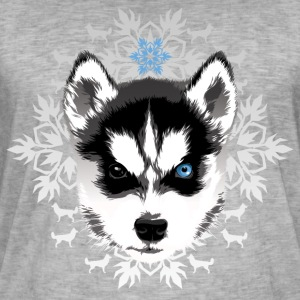 husky - Men's Vintage T-Shirt