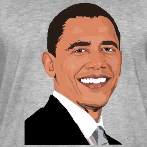Obama USA - T-shirt vintage Homme