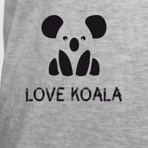 Koala bear Save Symbol cute black and white hipster - Men's Vintage T-Shirt