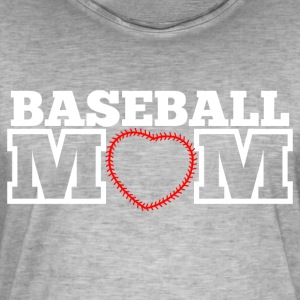 Baseball Mom - Mannen Vintage T-shirt