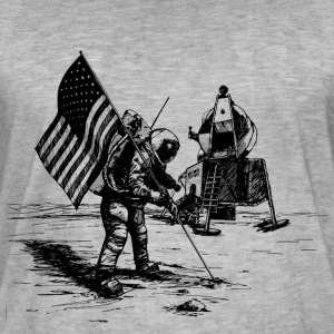 Apollo moon landing - Men's Vintage T-Shirt
