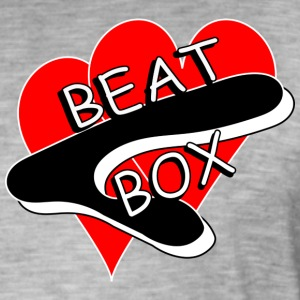 Beat Box Tegnede 2nd Edition - Vintage-T-skjorte for menn