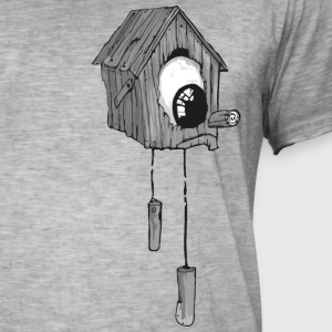 One Eyed Bird House. JYOOK-A002 - Herre vintage T-shirt