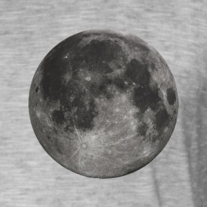 Glowing Full Moon - Men's Vintage T-Shirt