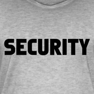 Security Mode - Vintage-T-shirt herr