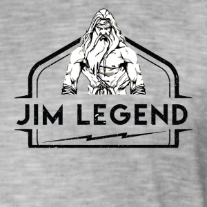 Jim Legend - T-shirt vintage Homme