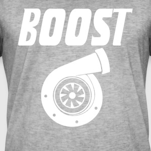 Boost turbocharger T-shirt - Mannen Vintage T-shirt