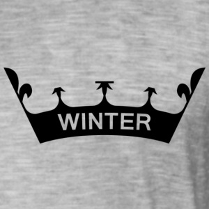 winter_crown - Camiseta vintage hombre