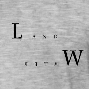 Land and Water - T-shirt vintage Homme
