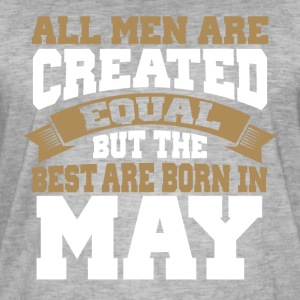 Men's Birthday May - Men's Vintage T-Shirt