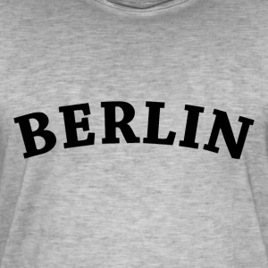 Berlin - Vintage-T-skjorte for menn