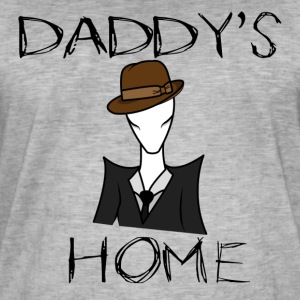 Daddy's Home (sociaal) - Mannen Vintage T-shirt