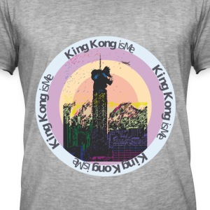kingkong - Vintage-T-skjorte for menn