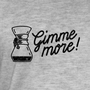 Gimme more! Coffee print - Männer Vintage T-Shirt