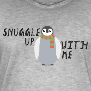 Snuggle Up With Me - T-shirt vintage Homme