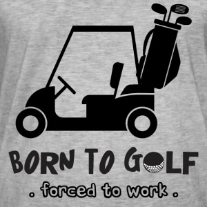 Born to Golf - Mannen Vintage T-shirt