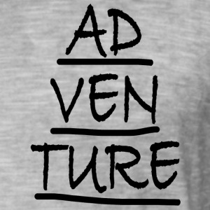 ADVENTURE - T-shirt vintage Homme
