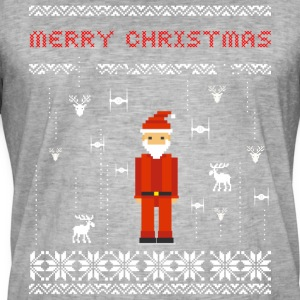 Santa Video Game Ugly Christmas Holiday T-Shirt st - Männer Vintage T-Shirt