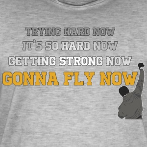 Gonna Fly Now - Rocky - Mannen Vintage T-shirt