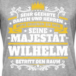 His Majesty Wilhelm - Men's Vintage T-Shirt