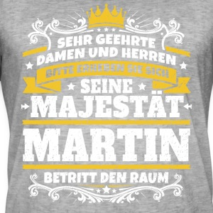 His Majesty Martin - Men's Vintage T-Shirt