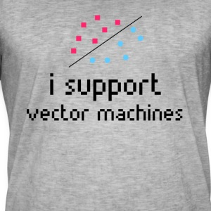 Machine Learning, Support Vector Machine - Männer Vintage T-Shirt