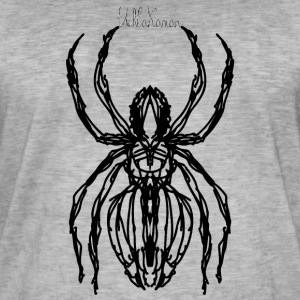 spider1 - Vintage-T-skjorte for menn