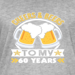60th birthday beers - Men's Vintage T-Shirt