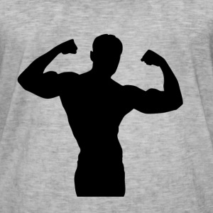 Musculation - T-shirt vintage Homme