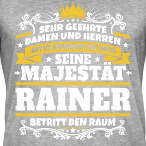 His Majesty Rainer - Men's Vintage T-Shirt