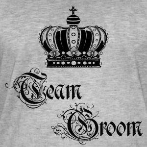 Team Groom - Men's Vintage T-Shirt