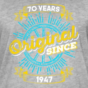 70 Birthday in 1947 - Men's Vintage T-Shirt