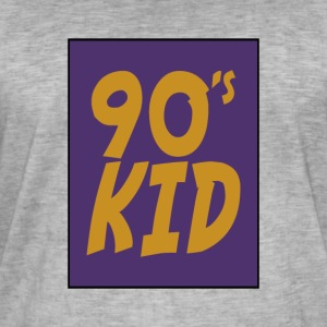 90-kid - Vintage-T-skjorte for menn