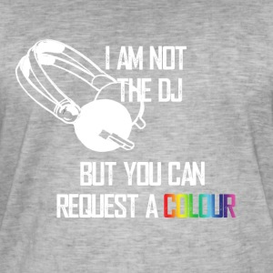 I_am_not_the_DJ_white - T-shirt vintage Homme